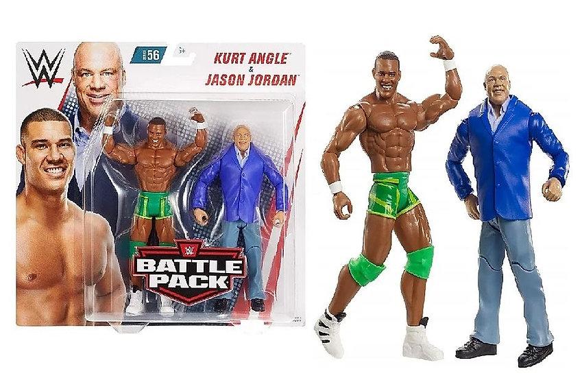 WWE Series 56 Kurt Angle And Jason Jordan Battle Pack