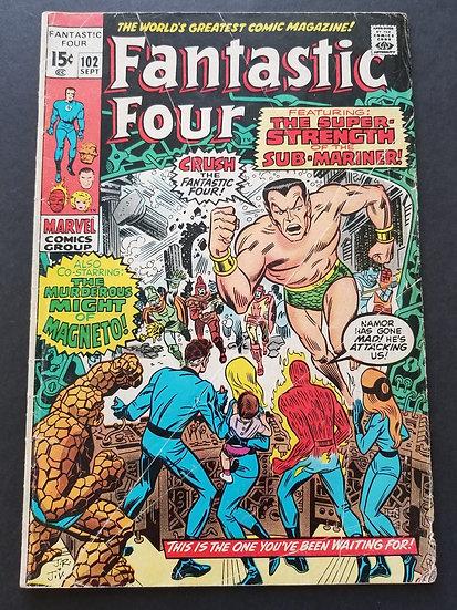 Fantastic Four (1961 1st Series) #102 VG-