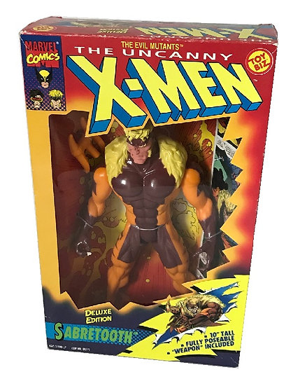 1994 Marvel Comics The Uncanny X-Men 10 inch Sabretooth By Toy Biz.