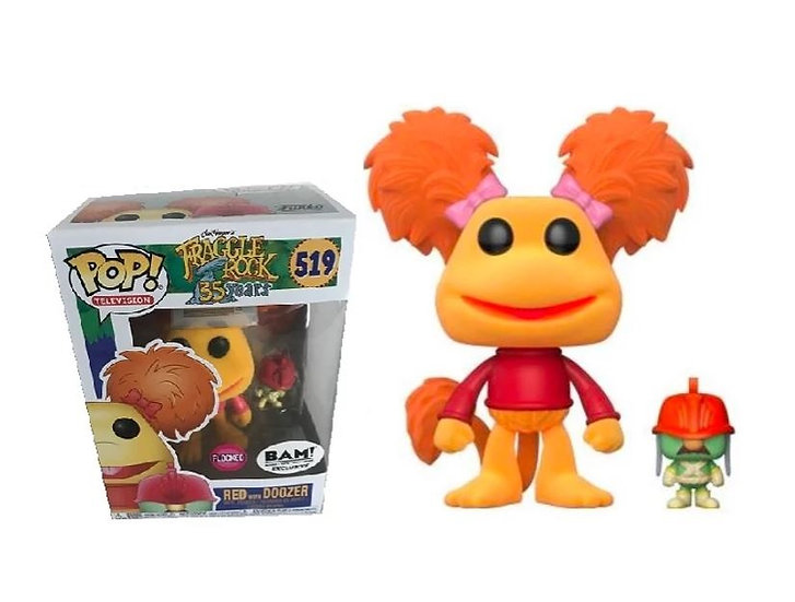 Fraggle Rock 35Years Red With Doozer Flocked 519 Bam Exclusive