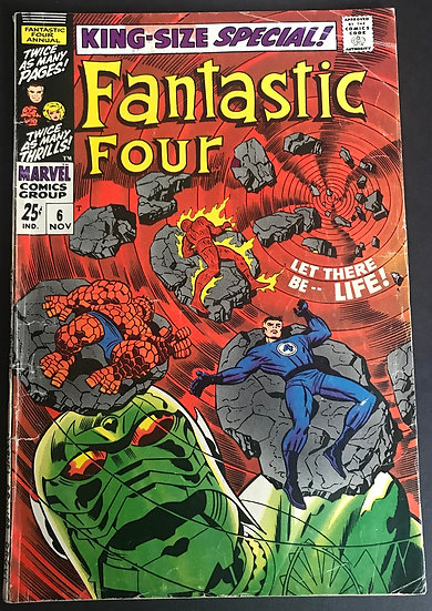 Fantastic Four Annual 6 @ CGC
