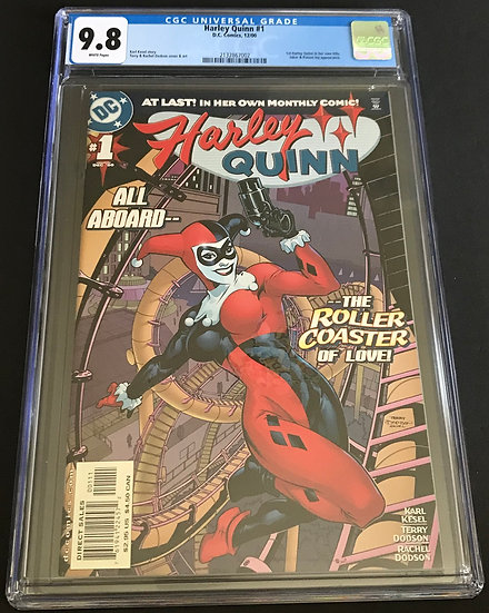 Harley Quinn (2000) #1 CGC 9.8 White Pages