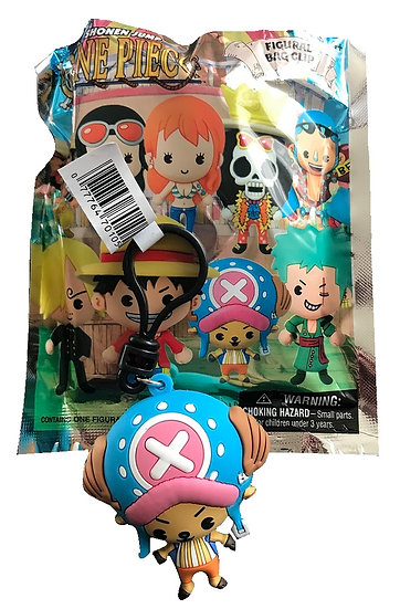 Shonen Jump One Piece Chopper 3-D Figural Bag Clip