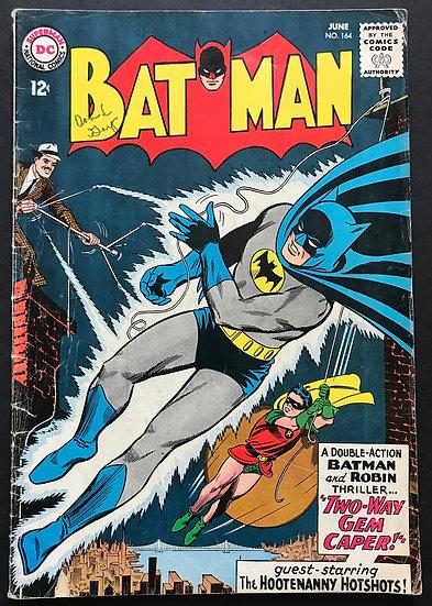 Batman #164 VG
