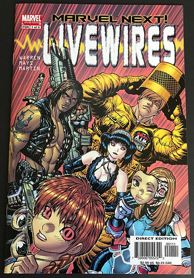 Livewires (2005) #1 [Limited Series]