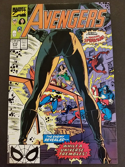 Avengers 315 NM/MT. Nebula appearance.