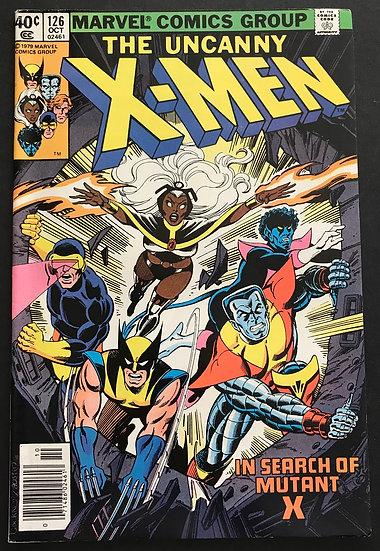 X-Men (Marvel) Mark Jewelers #126 NM- [Jewelers]