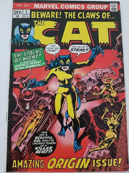 Cat (1972 Marvel) #1 VG+ [1st Cat, becomes Hellcat]