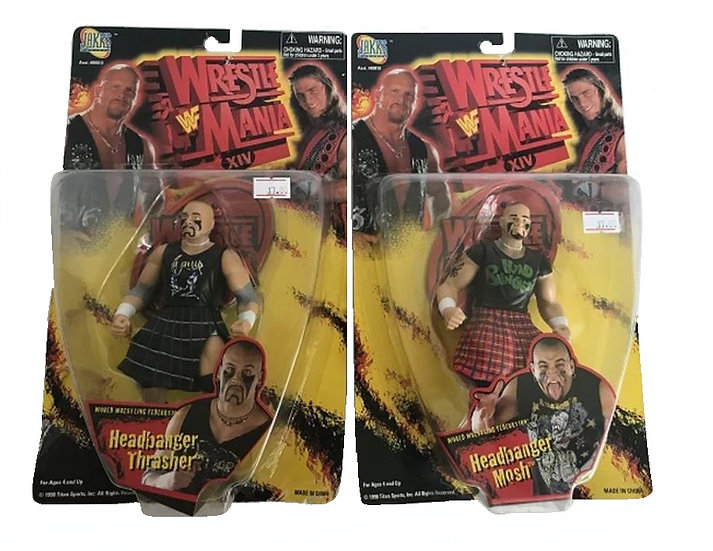 1998 WWF Wrestle Mania XIV Head Banger Mosh And Thrasher