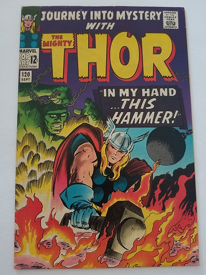 Journey Into Mystery 120 VF Avengers, Absorbing Man Appearance