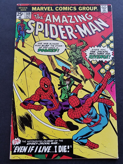 Amazing Spider-Man 149 FN. 1st Appearance of Spider-Clone.