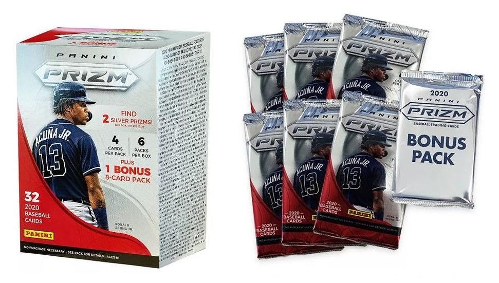 2020 Panini Prizm Baseball Trading Card Blaster Box