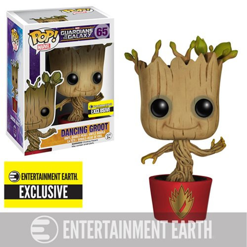 Guardians Of The Galaxy Dancing Groot 65 Entertainment Earth Exclusive