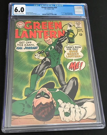 Green Lantern (DC) #59 CGC 6.0 Off-White To White Pages