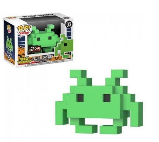 Space Invaders Medium Invader 33 Game Stop Exclusive
