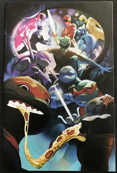 Power Rangers Teenage Mutant Ninja Turtles (2019 Boom) #5 NM Retailer Variant