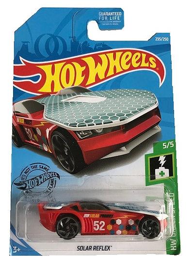 Hot Wheels HW Green Speed Solar Reflex