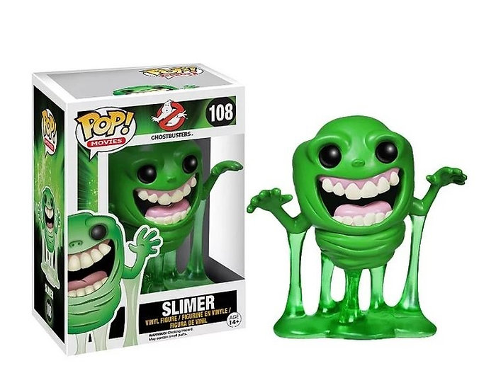 Funko Pop Ghostbusters Slimer 108