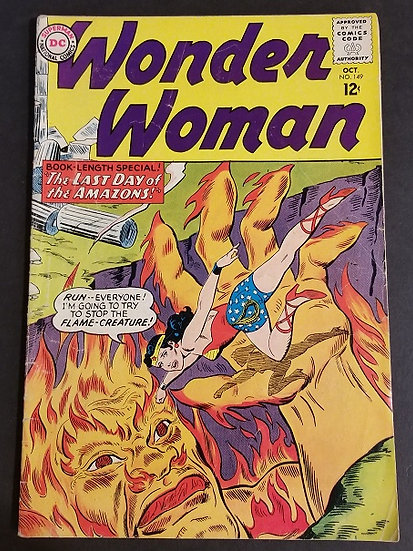 Wonder Woman (1942 1st Series DC) #149 FN