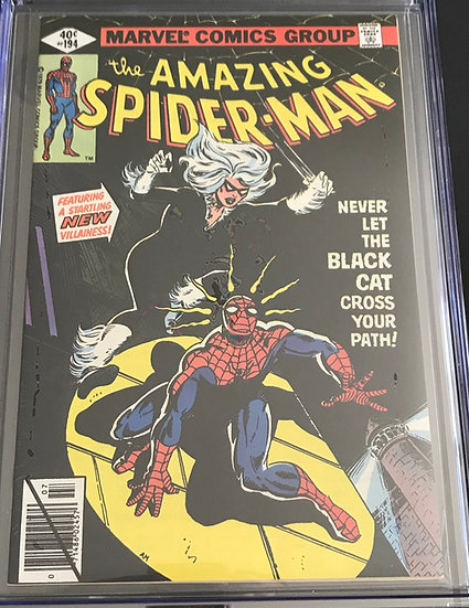 Amazing Spider-Man (1963 1st Series) #194 CGC 9.6 White Pages