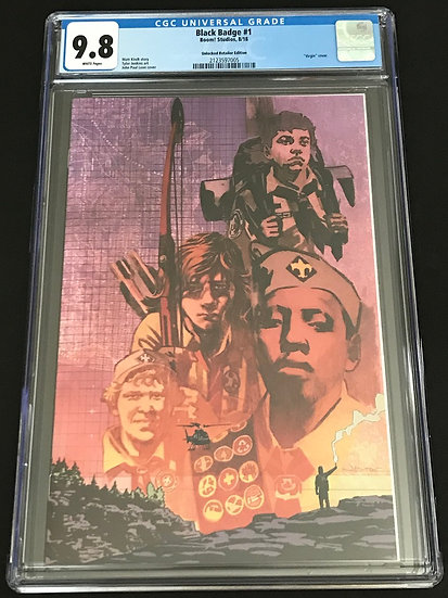 Black Badge #1 CGC 9.8 White Pages [Unlocked Retailer Edition]