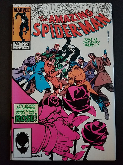 Amazing Spider-Man 253 VF. 1st appearance of Rose.