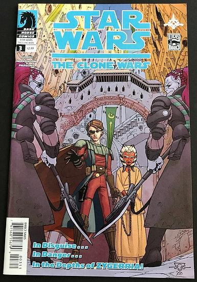 Star Wars Clone Wars (2008 Dark Horse) #3 VF/NM