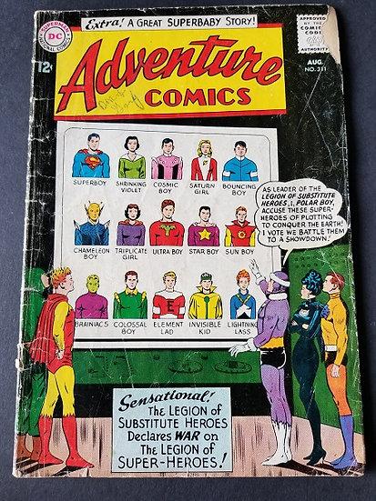 Adventure Comics (1938 1st Series) #311 GD/VG
