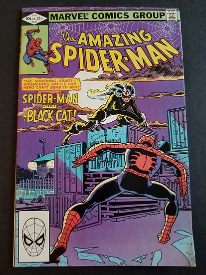 Amazing Spider-Man 227 FN. Black Cat appearance.