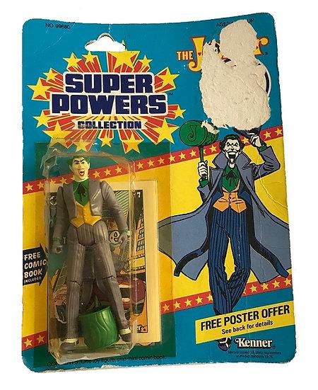 1984 Kenner Super Powers The Joke. [Bubble Damage]