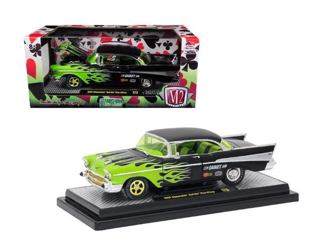 1957 Chevrolet Bel Air Hardtop R59 1/24 Diecast Model Car by M2 Machines