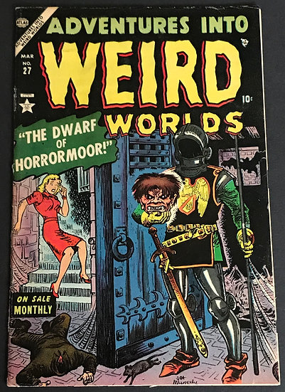 Adventures into Weird Worlds (1952-1954 Marvel/Atlas) #27 VG+