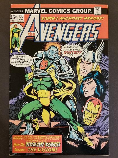 Avengers 135 VF
