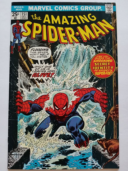 Amazing Spider-Man (1963 1st Series) #151 VF/NM
