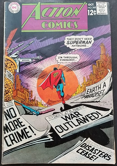 Action Comics #368 FN
