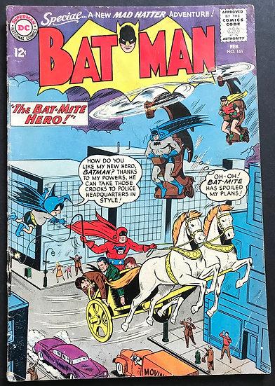Batman (DC) #161 VG+
