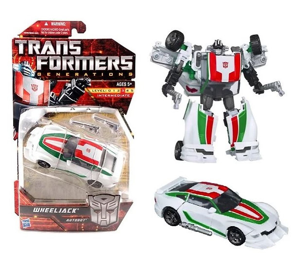 Transformers Generations Intermediate - Wheeljack Autobot