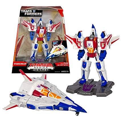 Transformers TItanium Series Starscream Die-cast Figure