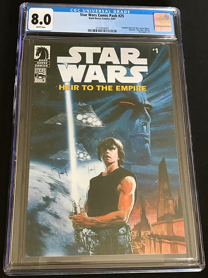 Star Wars Comic Pack (2006 Action Figure Reprints) #25 CGC 8.0 White Pages