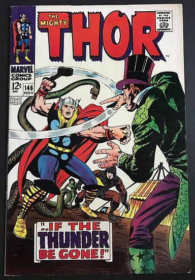 Thor (1962-1996 1st Series Journey Into Mystery) #146 VF