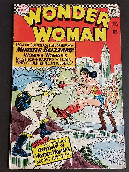 Wonder Woman (1942 1st Series DC) #162 VG