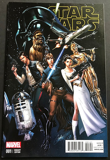 Star Wars (Marvel) #1 NM [Limited 1 for 50 Retailer Incentive Variant Cover]