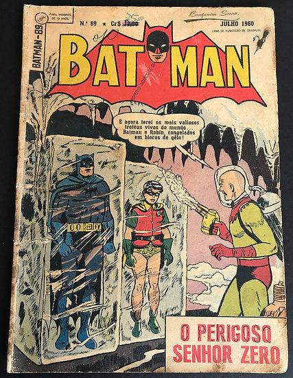 Batman #89 GD/VG Brazilian [Interior Tape]