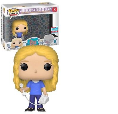 The Brady Bunch Jan Brady And George Glass 2 Pack NYCC2018 Exclusive