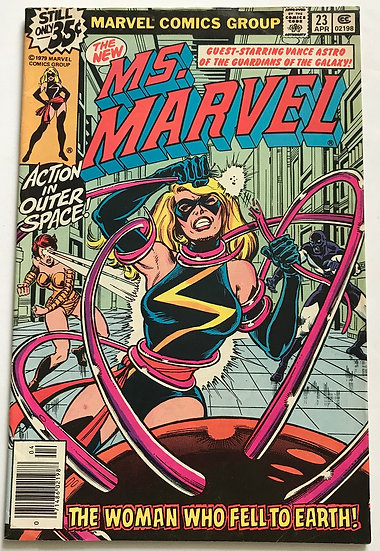 Ms. Marvel (Marvel) #23 VF+