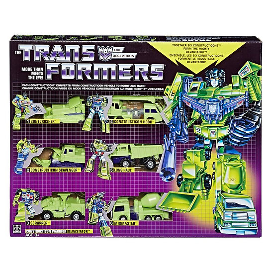Transformers G1 Devastator Reissue Walmart Exclusive