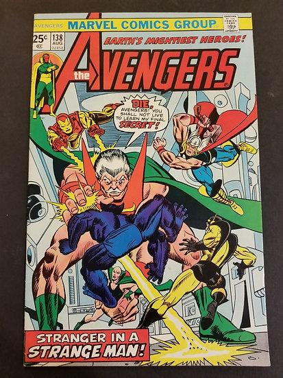 Avengers (Marvel ) #138 VF+