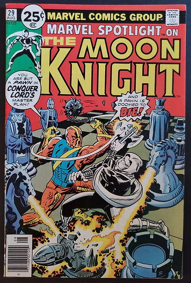 Marvel Spotlight (1971 1st Series) #29 FN/VF [2nd Solo Moon Knight]