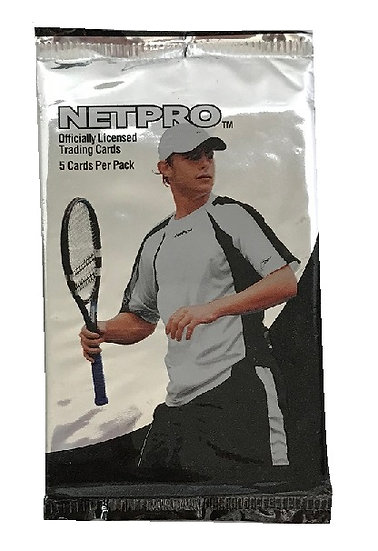 2003 NetPro Tennis Cards Pack (5 Cards)