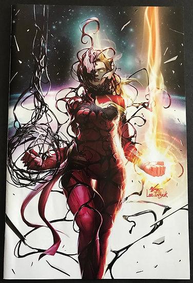 Captain Marvel 8 Virgin NM